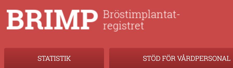 Brimp, bröstimplantatsregistret